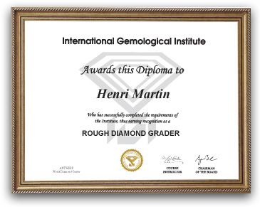IGI Rough Diamond Course