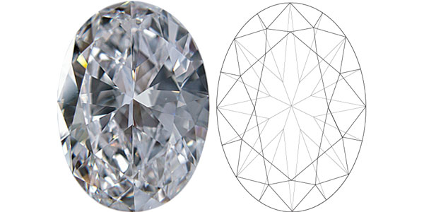 Oval Diamond Shapes