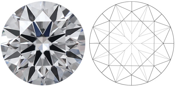 Round Diamond Shapes