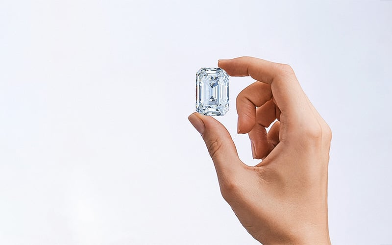 the Spectacle diamond