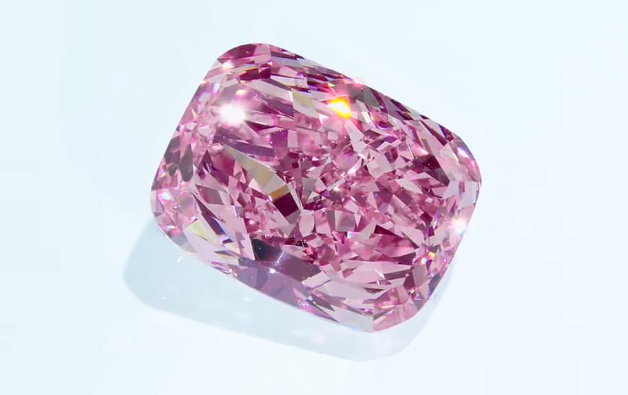 purple pink sakura diamond