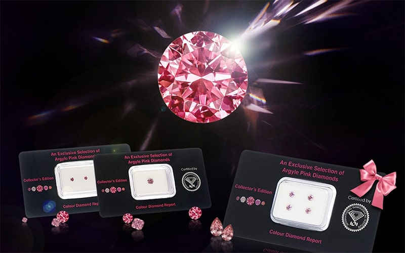 Read more about the article Curated Argyle pink diamonds offered as 'The Collector's Edition'