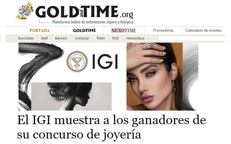 Read more about the article Gold and Time features IGI Design Contest Winners