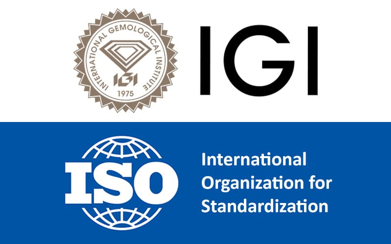 Read more about the article IGI World's First w/ ISO Accreditation for Lab-Grown & Natural Diamonds