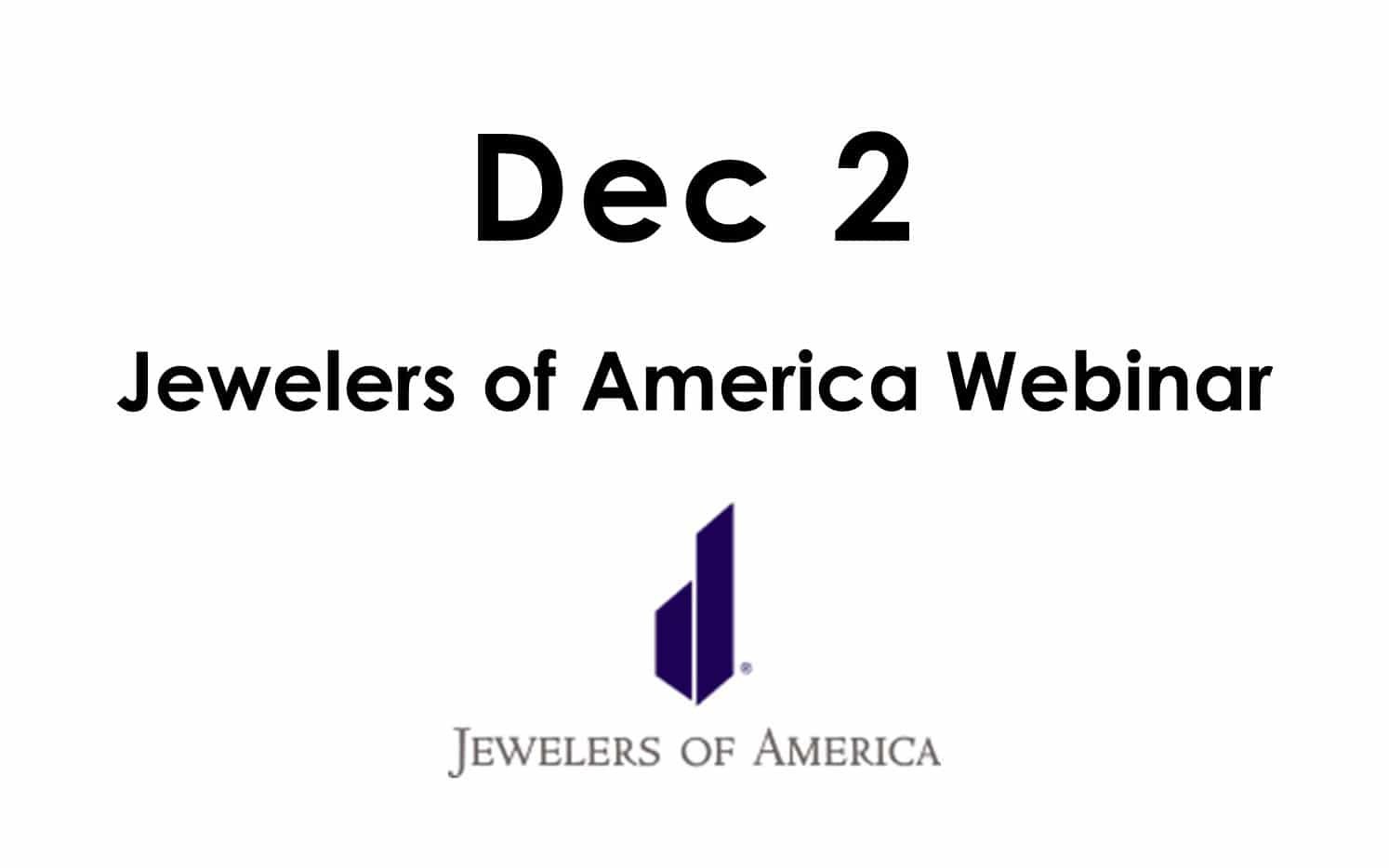 Read more about the article Register for our Dec 2 Lab-Grown Diamond Webinar
