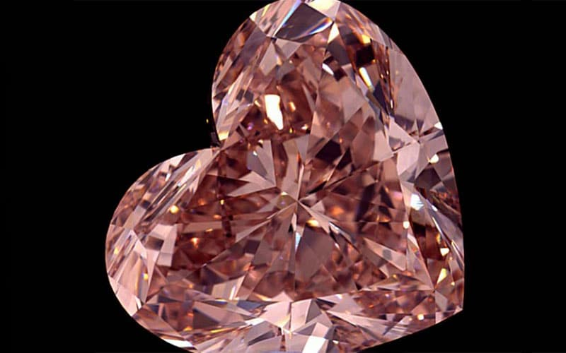 You are currently viewing Lulo Pink cut into 15.2 carat Heart Shape