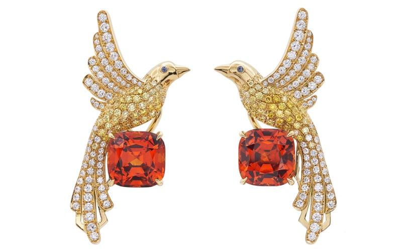 Tiffany & Co. Fanta Stone Stud Earrings