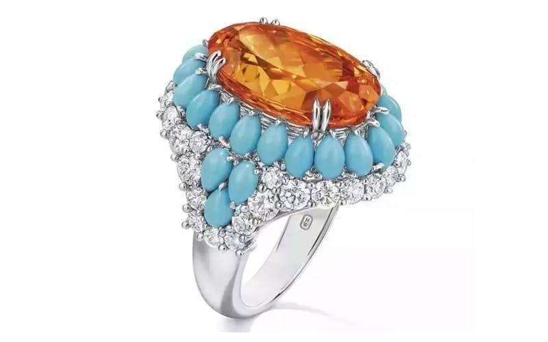 Harry Winston Fanta Stone Ring