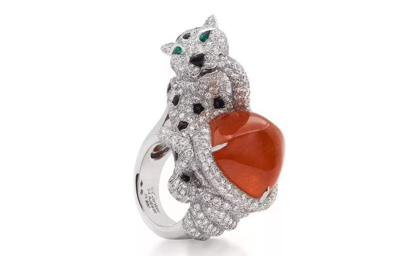 Cartier High Jewelry Collection-Platinum Ring