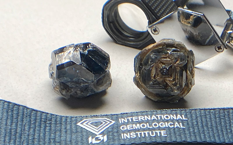 world record black lab grown diamonds graded by IGI