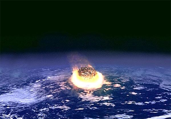 meteor crash into Earth
