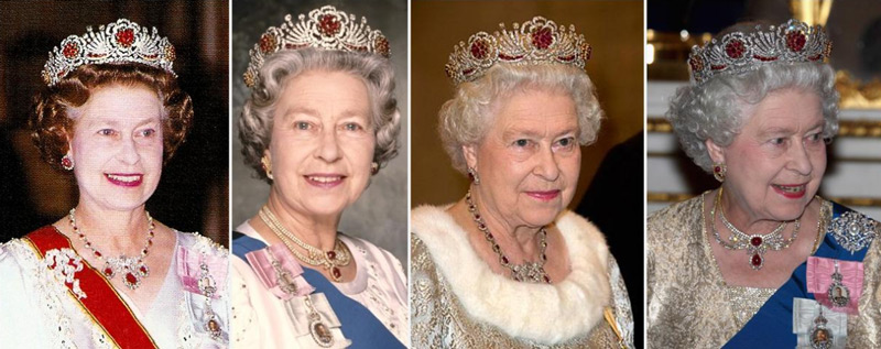 Queen Elizabeth through the years