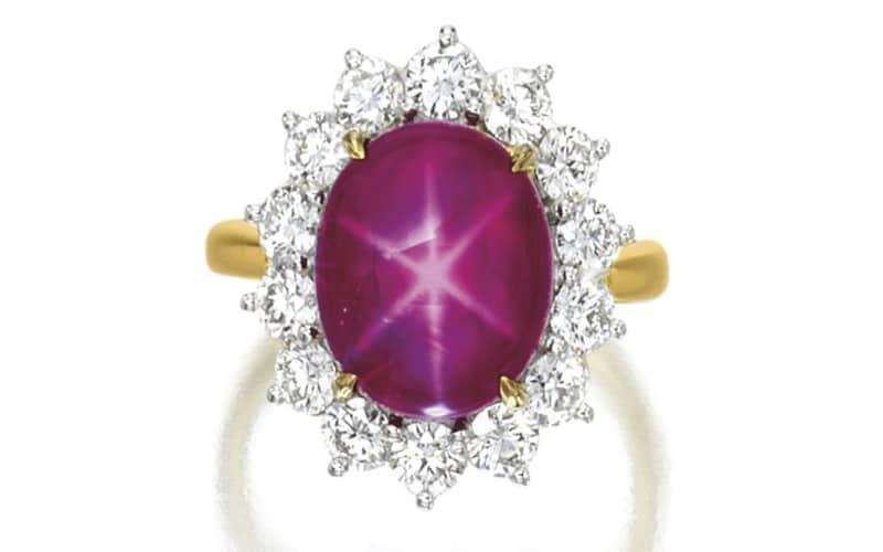 Tiffany's star ruby