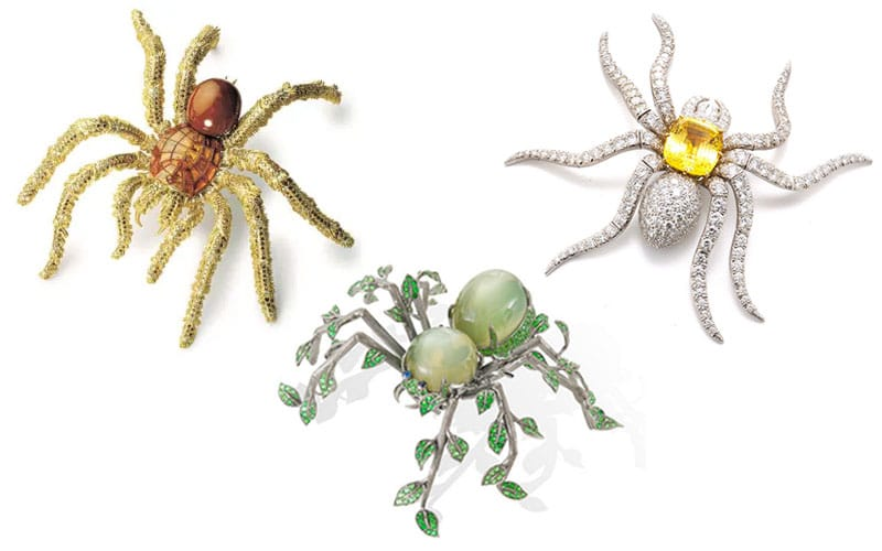 You are currently viewing Spooky Spider Brooches for Halloween