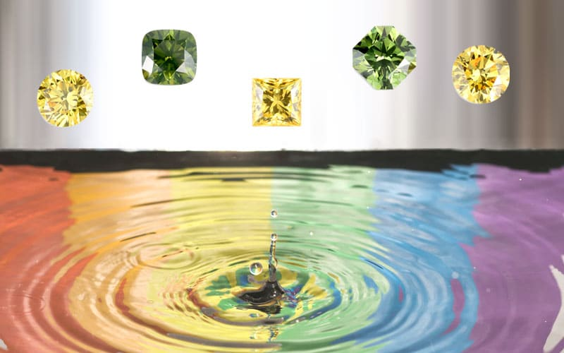 Read more about the article Watch a video rainbow of lab-grown diamonds