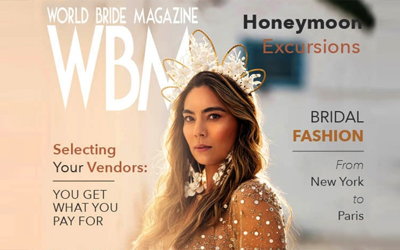 You are currently viewing IGI gives advice in World Bride Magazine