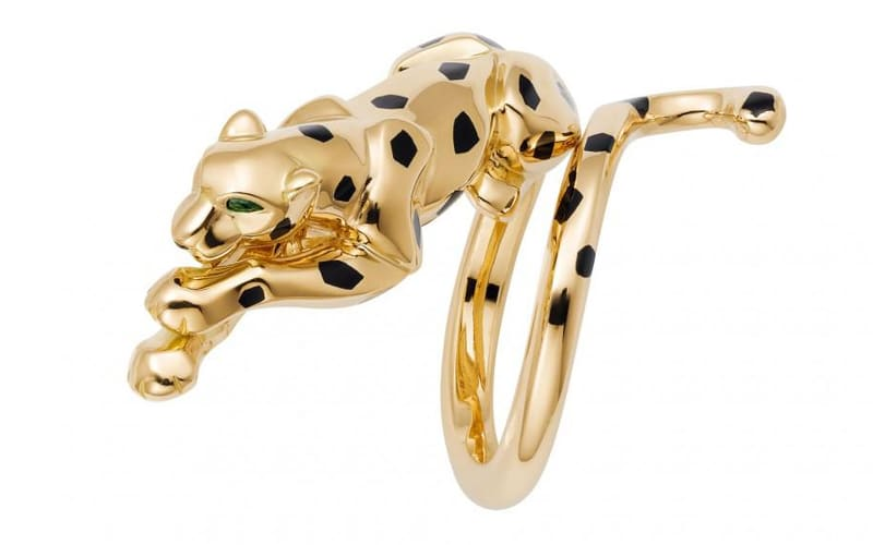 panther jewelry by Cartier