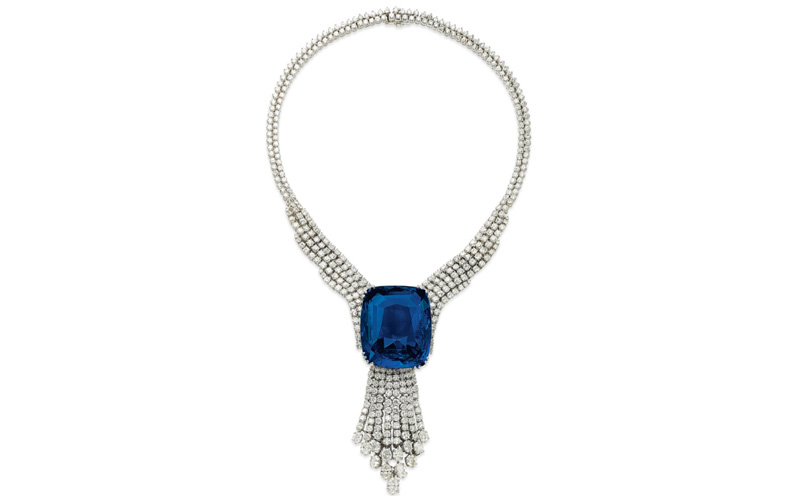 Blue Belle of Asia Necklace
