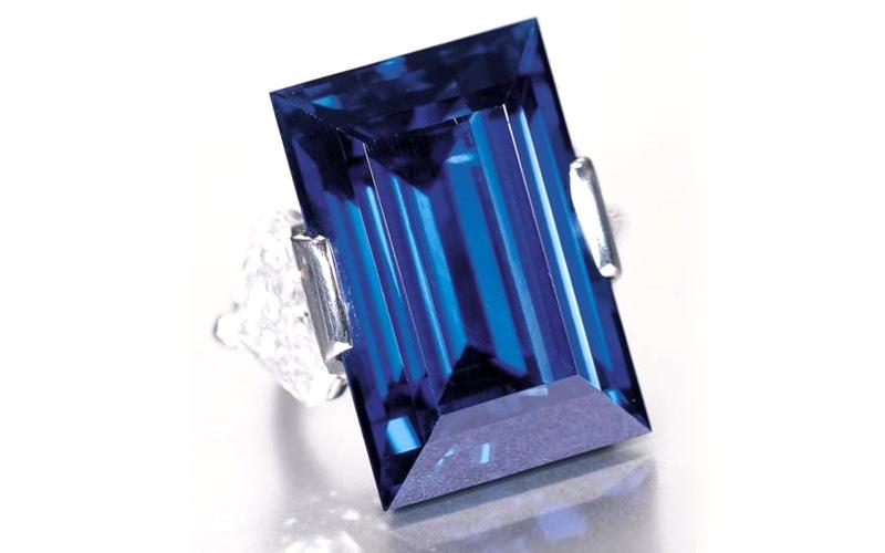 Rockefeller Sapphire