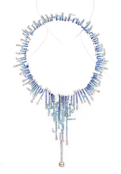 """""""Fusion"""" jewelry design"""