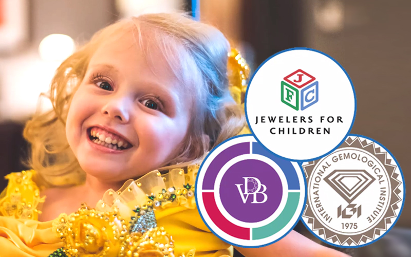 IGI and VDB partner on Jewelers For Children Charity Auction