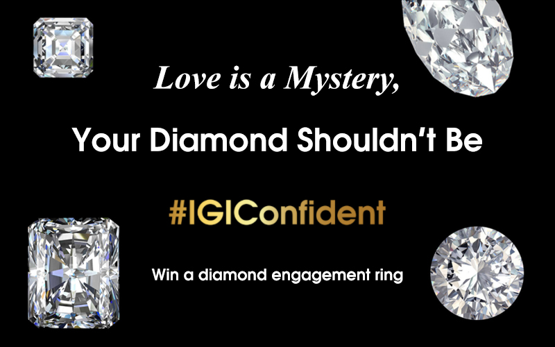 IGI Launches 'Love is a Mystery, Your Diamond Shouldn't Be' Giveaway