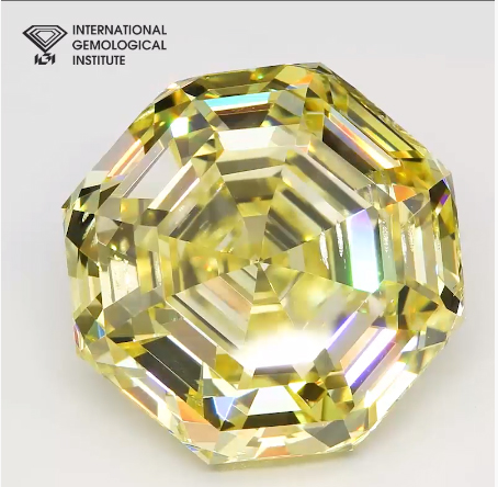 NDT'S RECORD-SETTING 10 CARAT LAB-GROWN FANCY INTENSE YELLOW DIAMOND TO DEBUT AT SEPTEMBER HONG KONG SHOW