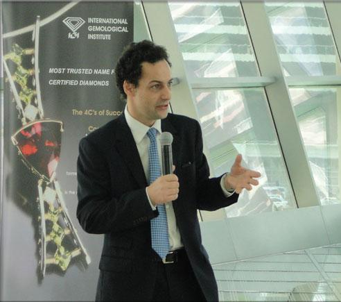 IGI Presents Synthetic Diamonds Seminar in Dubai