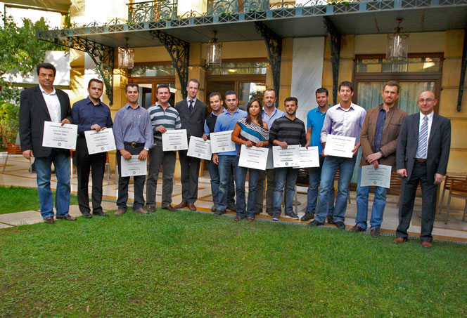 IGI Holds Inaugural Polished Diamond Grading Class in Greece