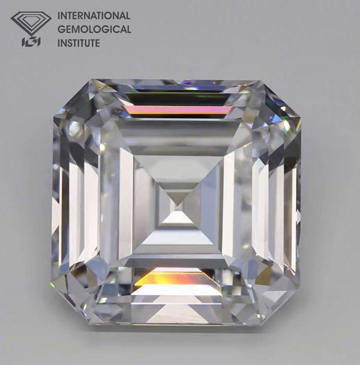 IGI Hong Kong Certifies Record-Breaking, World's Largest Colorless Grown Diamond